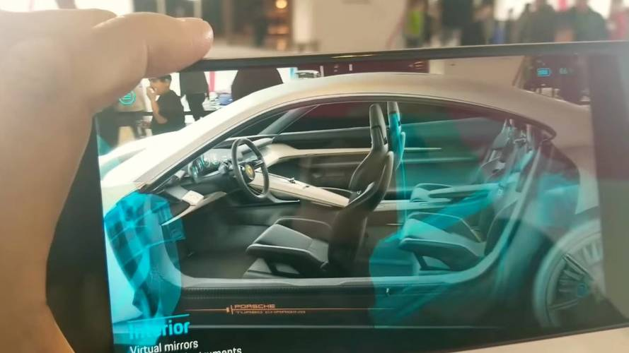 Check Out Porsche Mission E In Augmented Reality