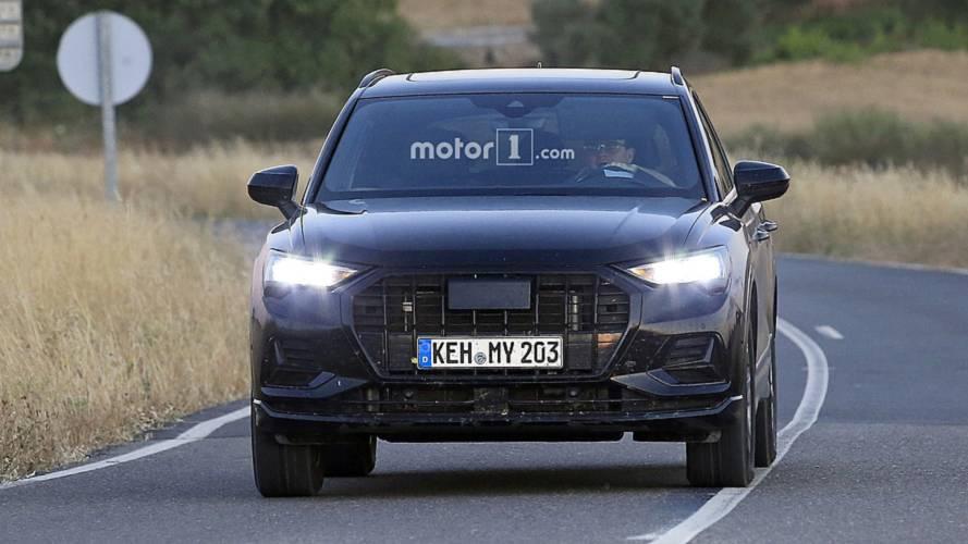 Le nouvel Audi Q3 se montre avec très peu de camouflage