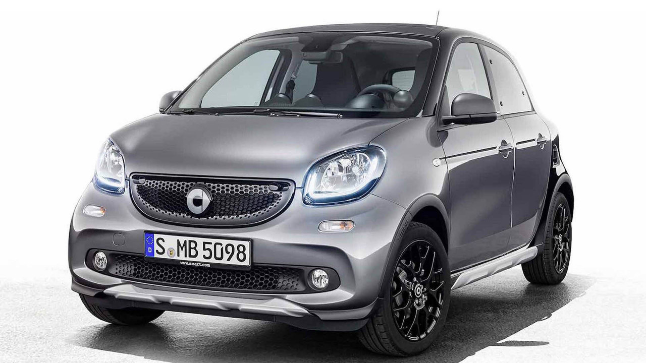 Smart Forfour Edition Crosstown