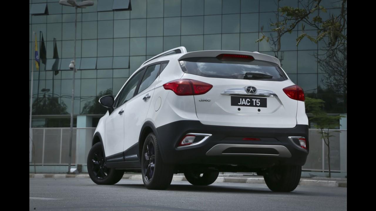 JAC T5 entra na briga dos SUVs compactos apostando em preço e equipamentos