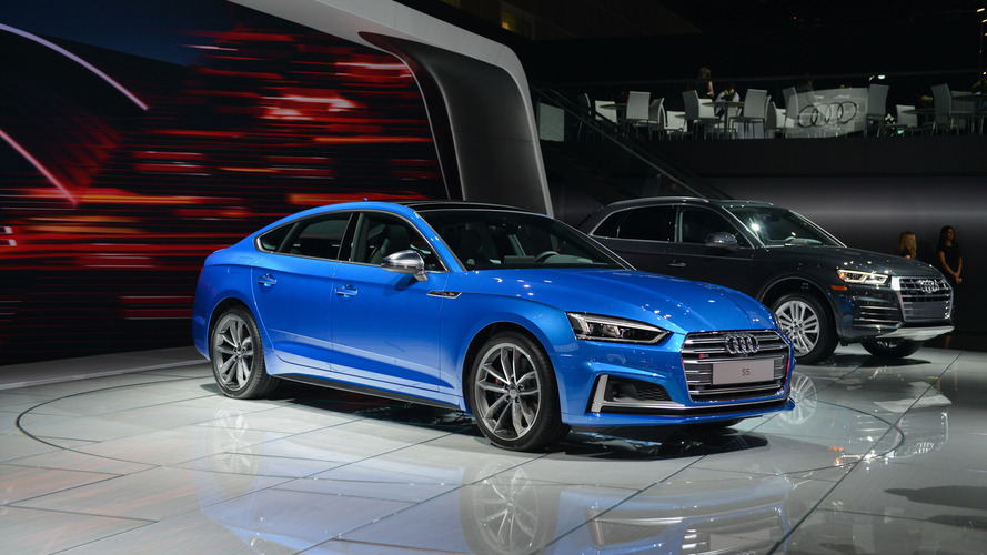 2018 Audi S5 Sportback debuts in L.A. ahead of launch