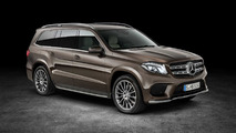 Mercedes-Benz GLS 2017 marron