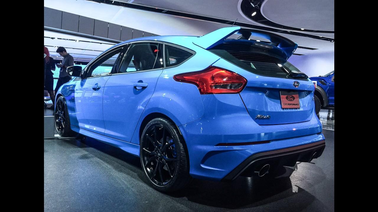 Salão de Detroit: Ford começa produzir Focus RS com 350 cv e tração integral
