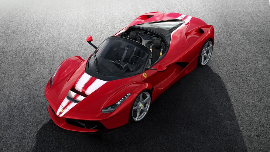 Ferrari - La dernière LaFerrari Aperta s'arrache à prix d'or