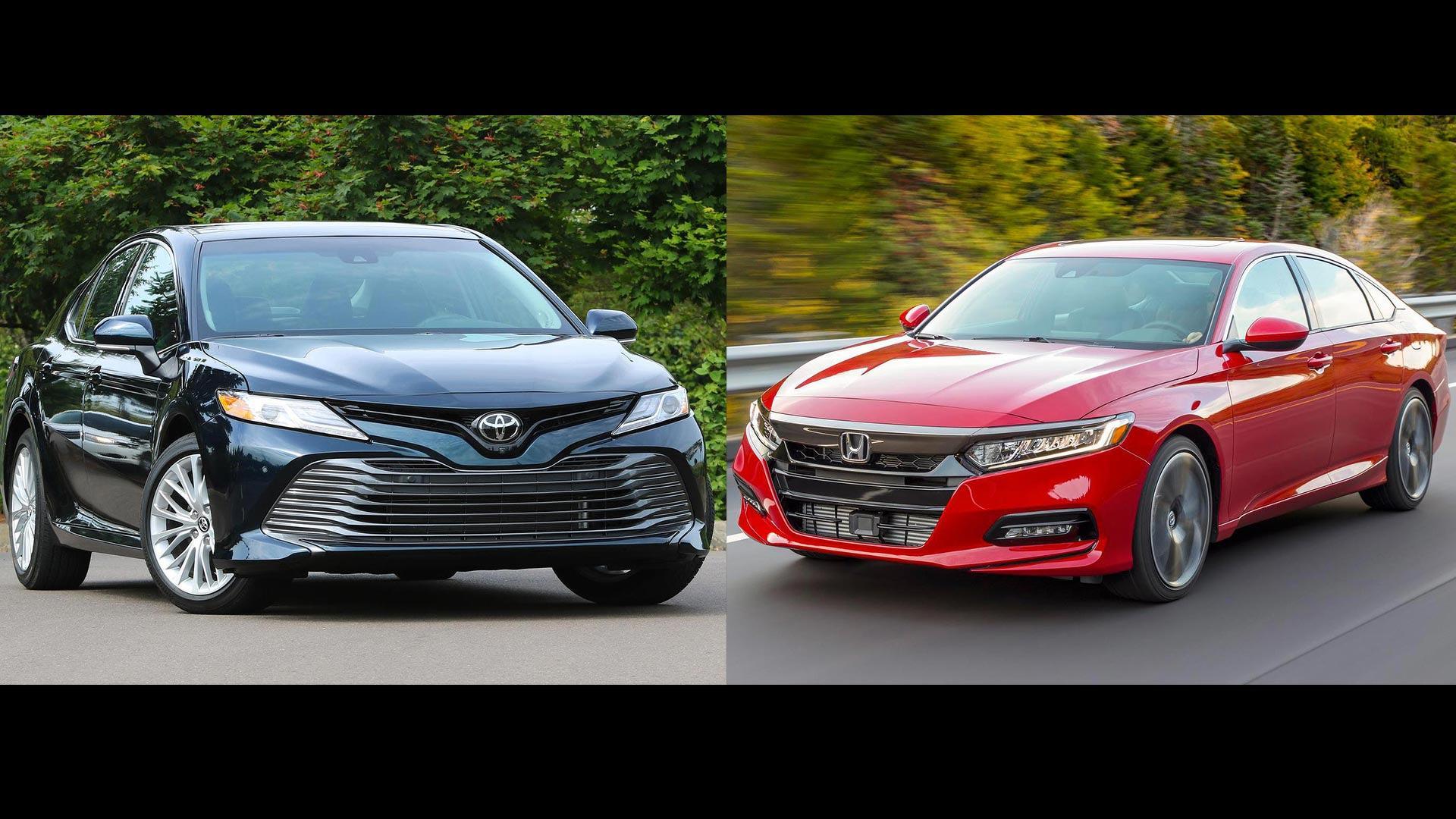 Toyota Honda >> 2018 Honda Accord Vs 2018 Toyota Camry The Family Sedan Battle