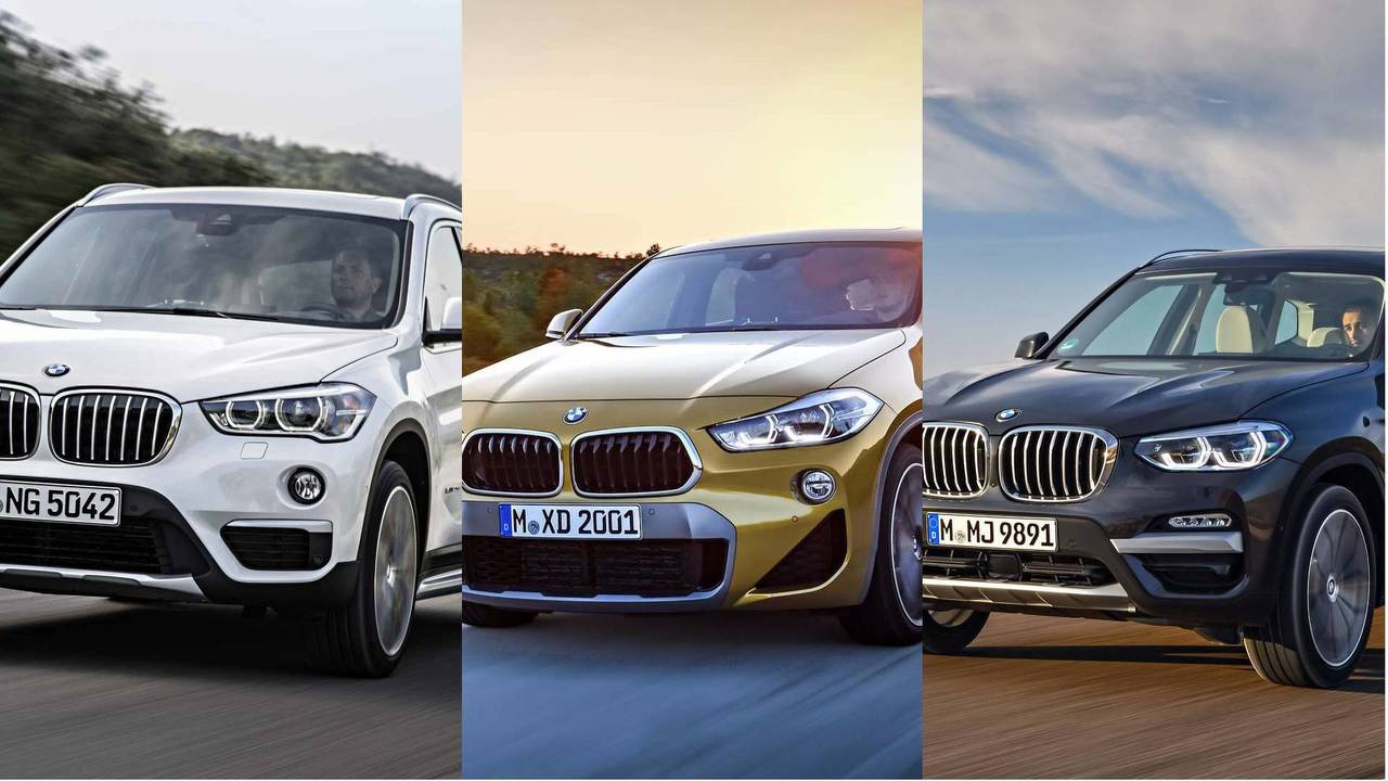 bmw x1 vs x2 vs x3 head to head by numbers. Black Bedroom Furniture Sets. Home Design Ideas