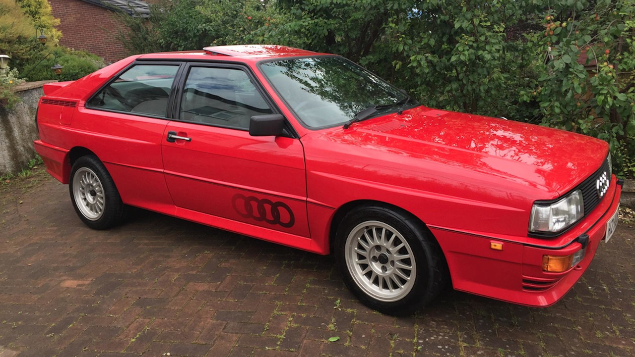 Pristine Audi Quattro Turbo Grabs K At Auction - Audi car auctions