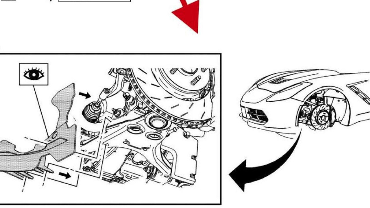 2014 Chevrolet Corvette C7 photo from service manual