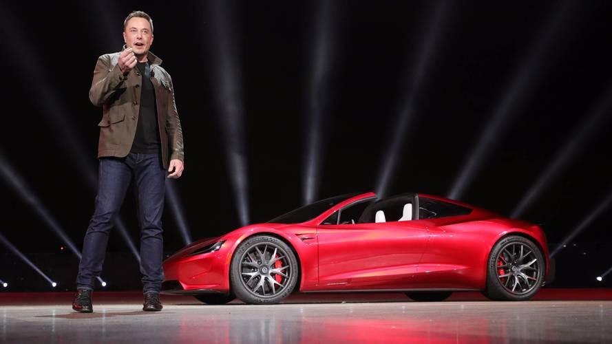 Tesla Roadster - Un mode pour être encore plus rapide qu'annoncé