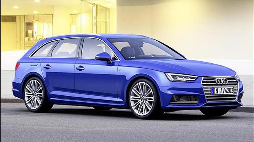 Nuova Audi A4, in prevendita da 33.800 euro
