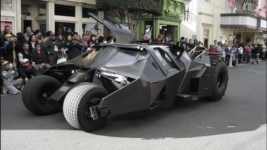 Batmobile, al bando le repliche non autorizzate