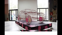 Range Rover Evoque, 4 sculture a Parigi