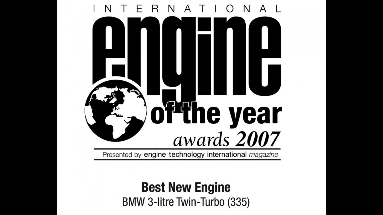 Best Engine of The Year 2007: categorie e vincitori