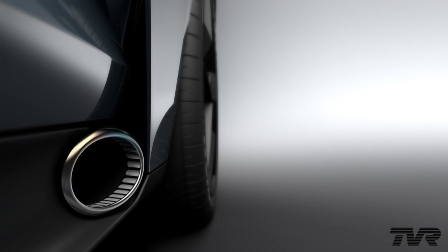 200-mph TVR Shows Side Exhaust Ahead Of September 8 Debut