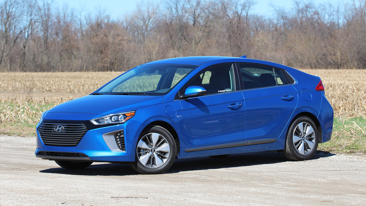 2018 hyundai plug in hybrid. simple 2018 2018 hyundai ioniq plugin prototype review and hyundai plug in hybrid