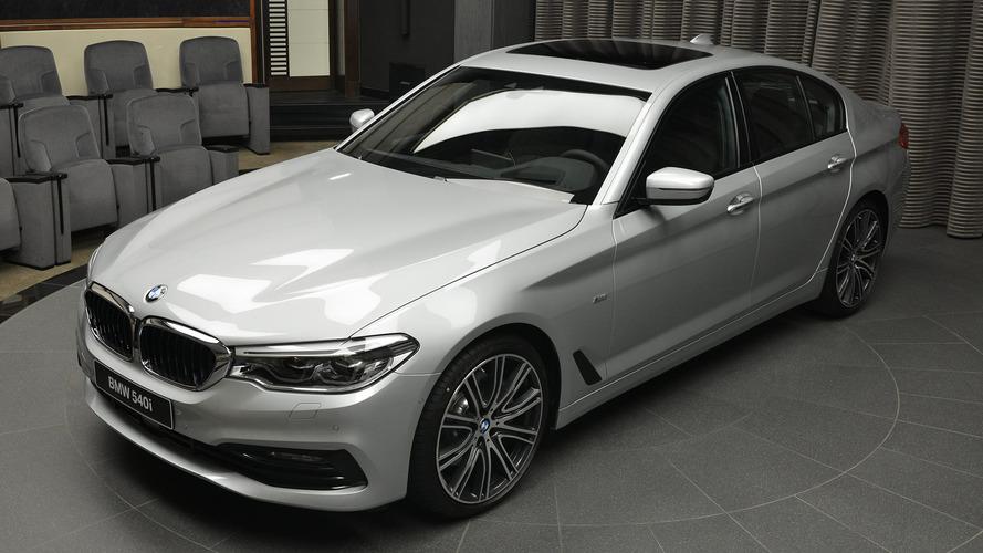 BMW Abu Dhabi Motors'un yeni oyuncağı: 540i Sport Line