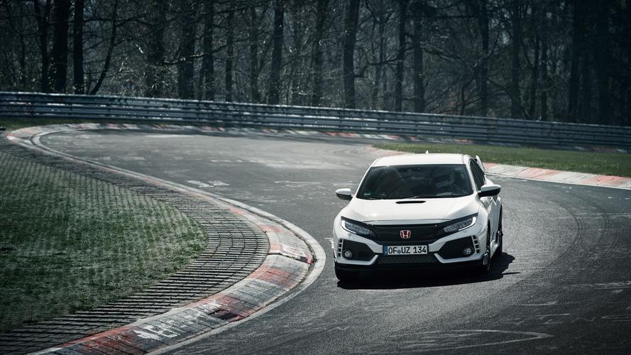 Honda Civic Type R Nürburgring'in yeni kralı oldu