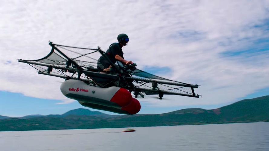 Kitty Hawk Flyer Isn't A Flying Car, But It Looks Like A Fun Toy