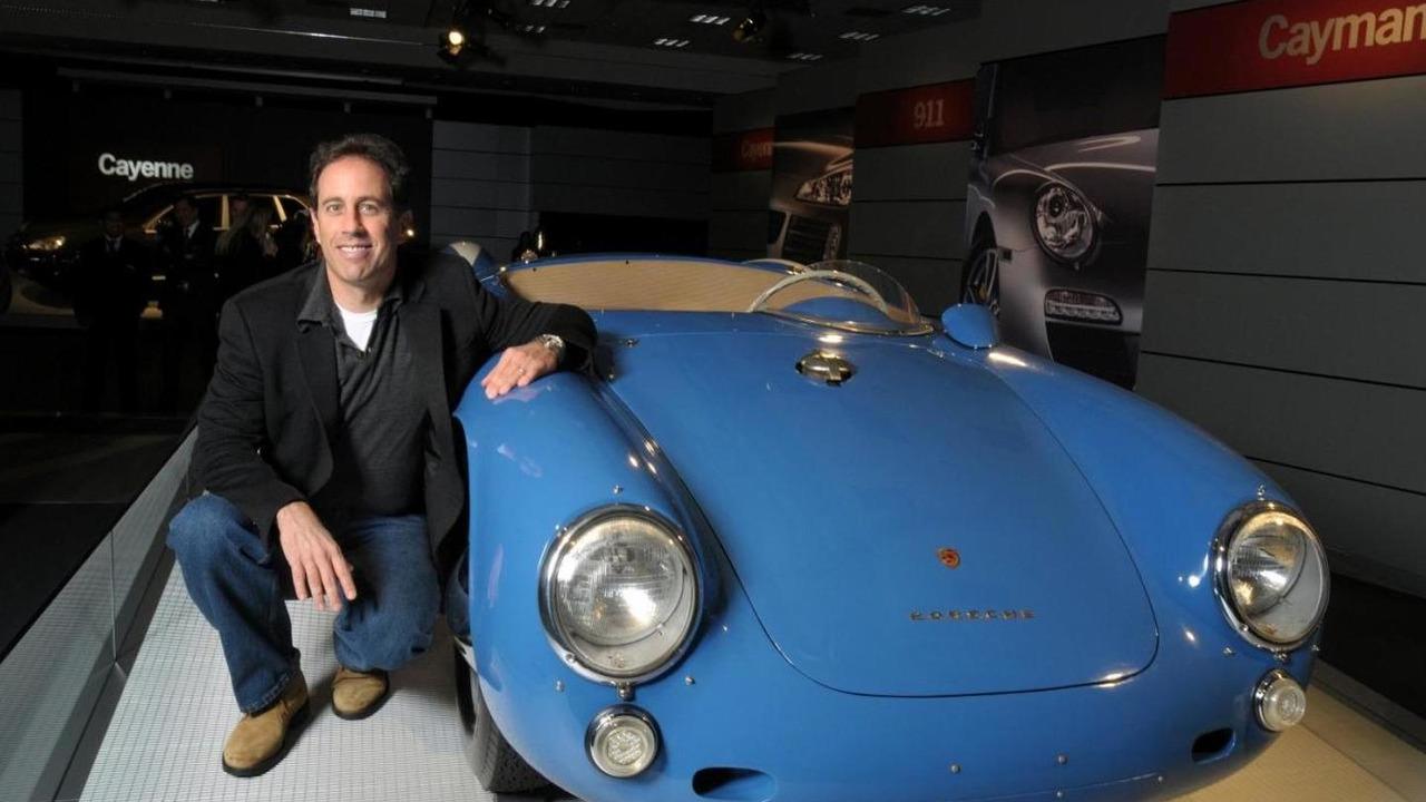 Jerry Seinfeld, Porsche Rennsport Reunion IV 16.10.2011