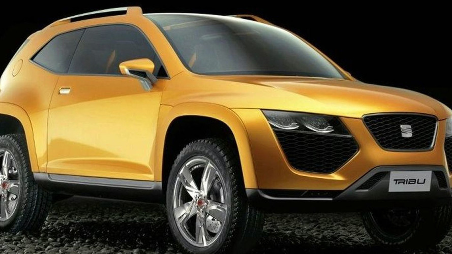 SEAT Tribu Concept photos leaked