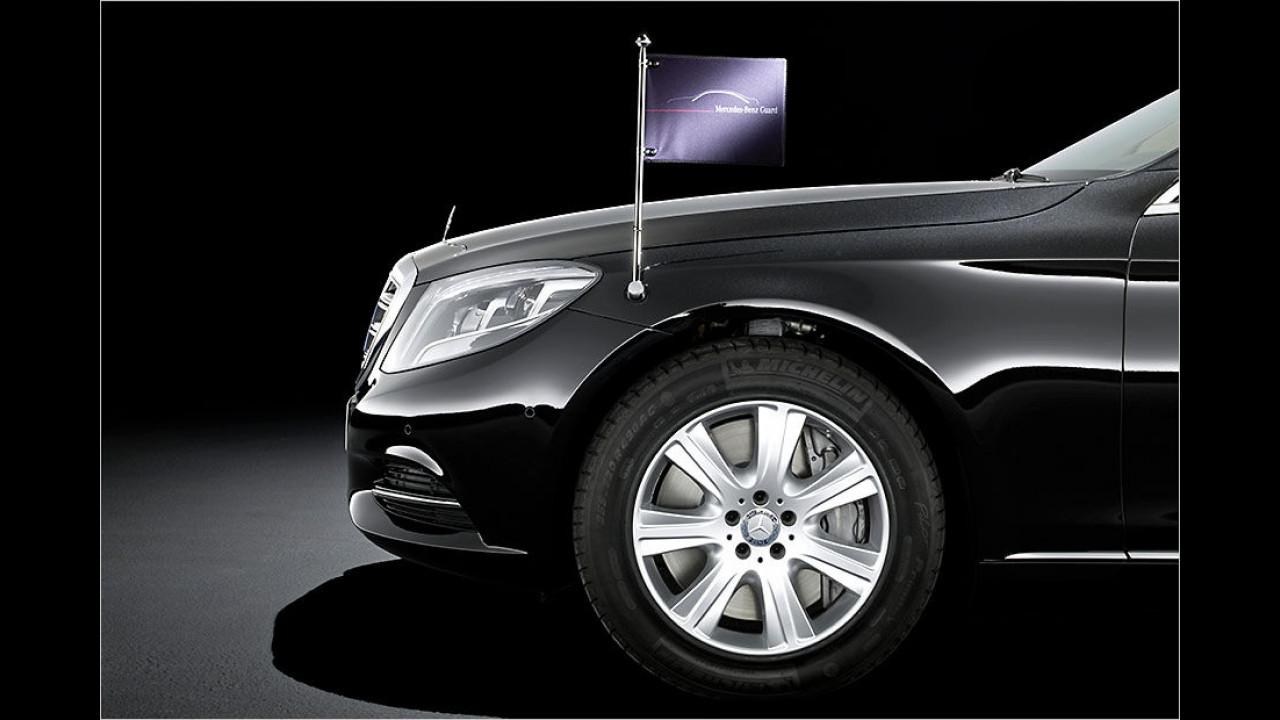 Mercedes S 600 Guard