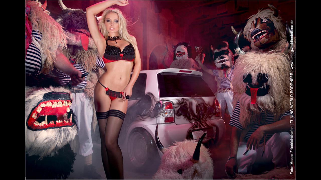 Miss Tuning Kalender 2012: Selbst die Monster des Februars verblassen neben Mandy