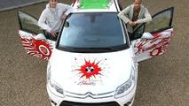 Citroën C4 Arsenal Fans Car & Gael Clichy & Robin Van Persie