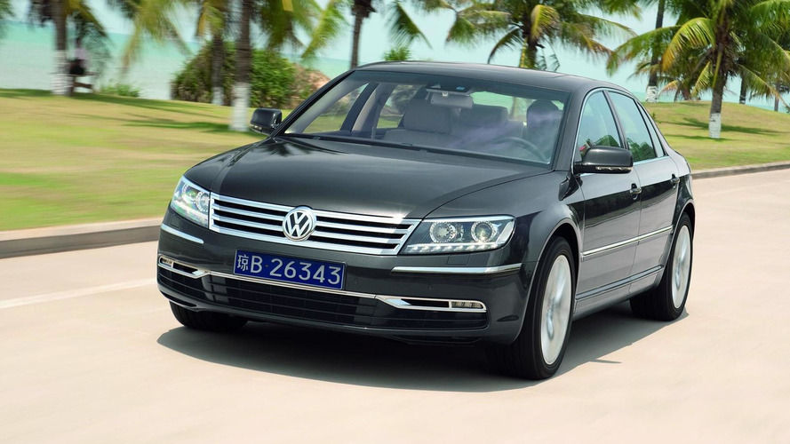 2015 Volkswagen Phaeton could debut in Detroit - report