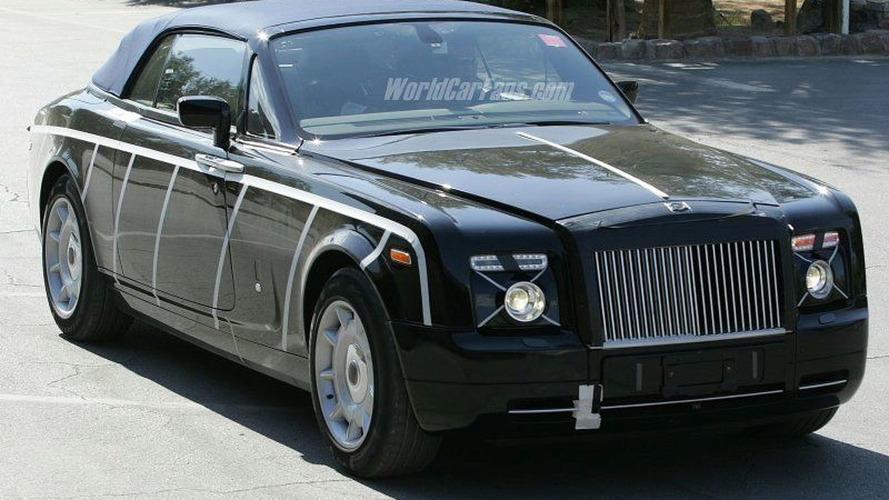 Spy Photos: More Rolls Royce Corniche Convertible