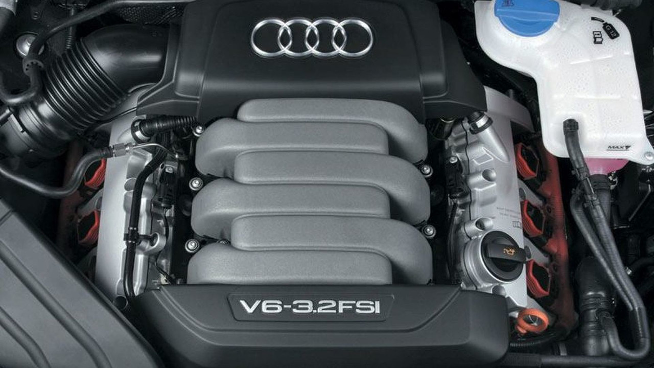 Audi A4 3.2 V6 FSI engine | Motor1.com Photos