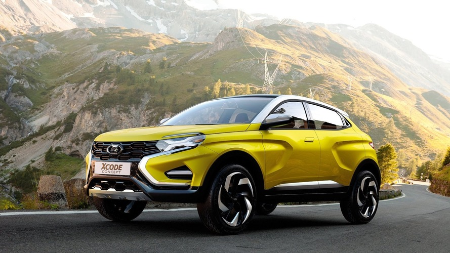 Lada XCODE compact SUV steals the show in Moscow