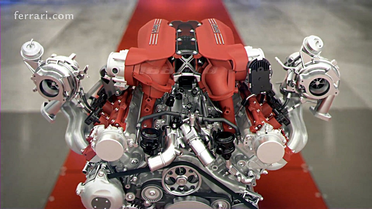 Ferrari 488 GTB engine explainer - 2