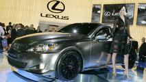 Chrome Lexus IS250 at Australian Int. Motor Show