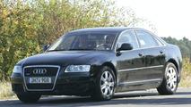 Audi A7 mule spy photos
