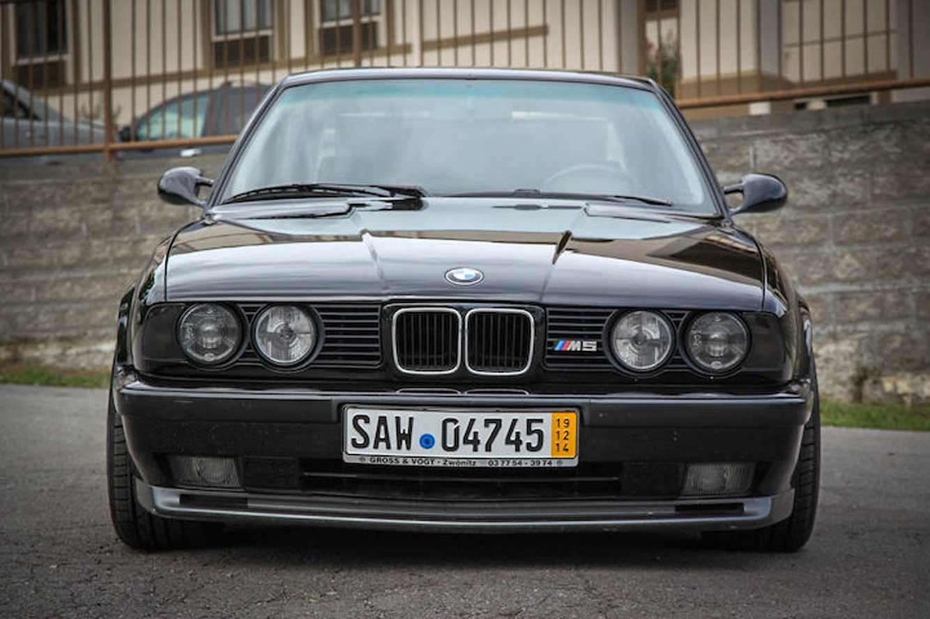 this euro spec 1991 bmw m5 is clean mean and on ebay. Black Bedroom Furniture Sets. Home Design Ideas