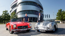Mercedes and Porsche announce historic partnership... to sell more tickets