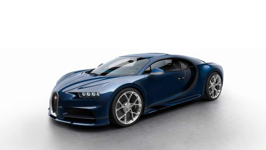 Check out the Bugatti Chiron in various colours
