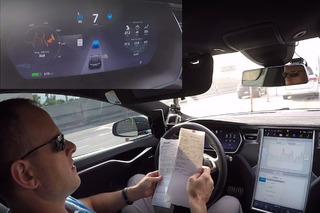 Tesla Autopilot System Tackles Daily Commute, Shows Minor Flaws