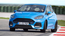 Ford Fiesta RS 2018 Render