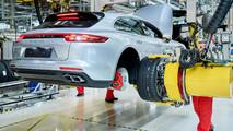 2018 Porsche Panamera Sport Turismo production start