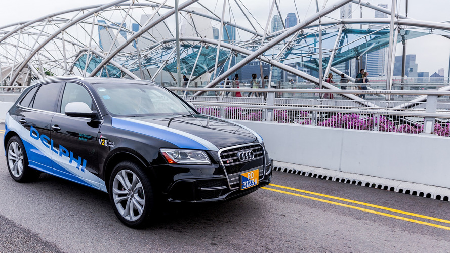 Delphi va tester ses voitures autonomes en Europe et aux Etats-Unis
