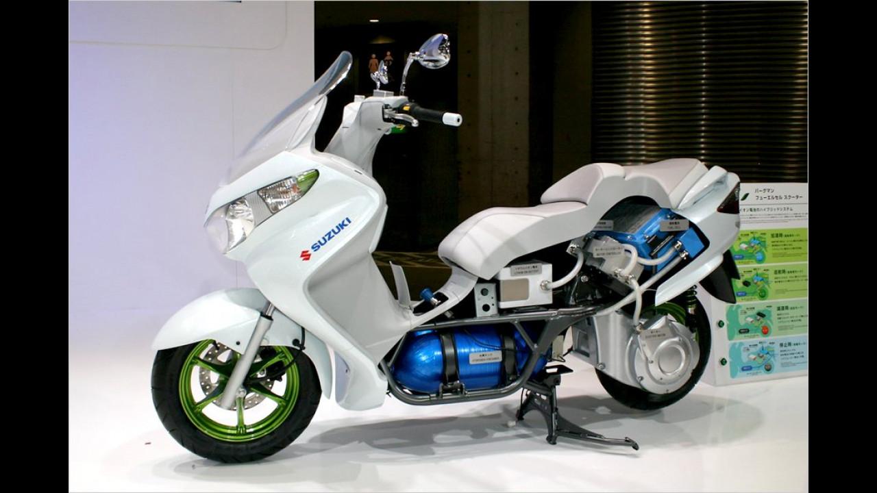 Suzuki Burgman Fuel Cell