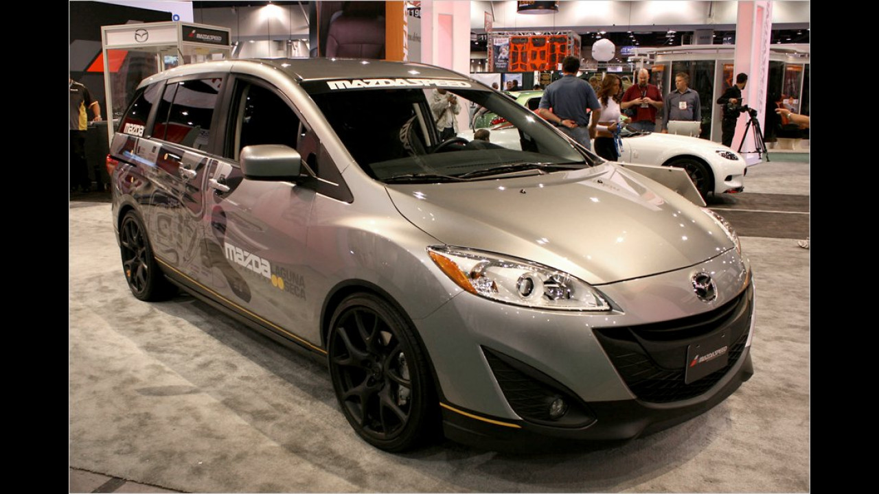 Mazda 5 Laguna Seca Sport Vehicle