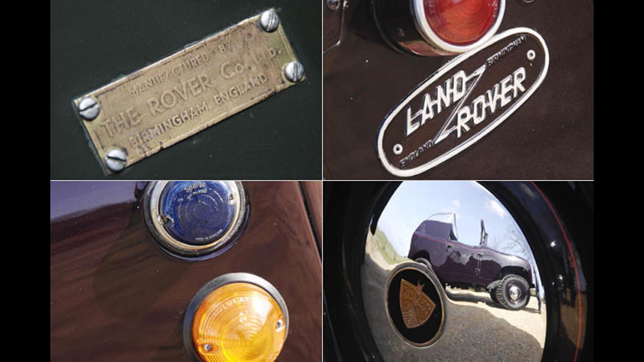 Land Rover aus Birmingham