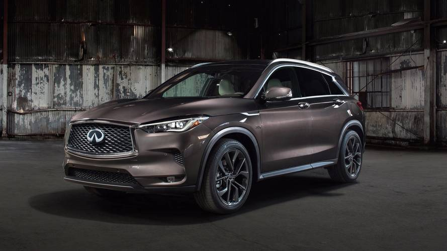 New Infiniti QX50 revealed