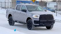 2019 Ford Ranger XLT Spy Photo
