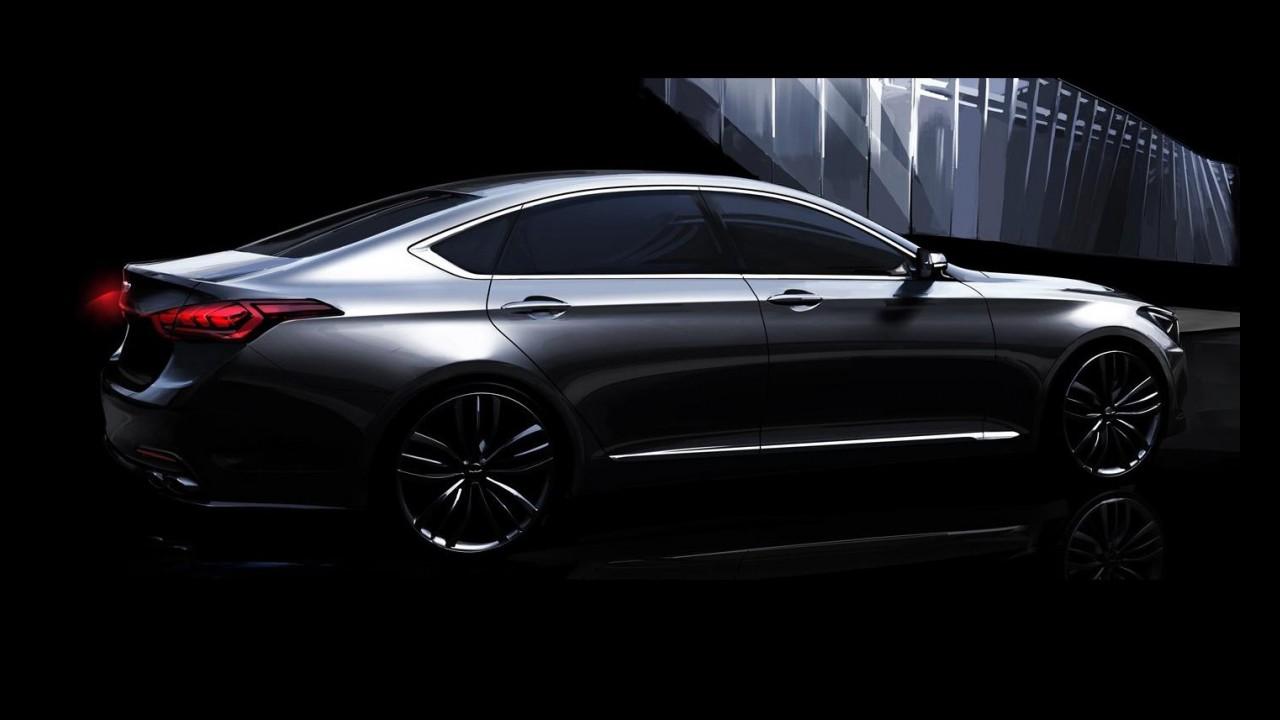 Hyundai planeja vender segunda geração do Genesis na Europa