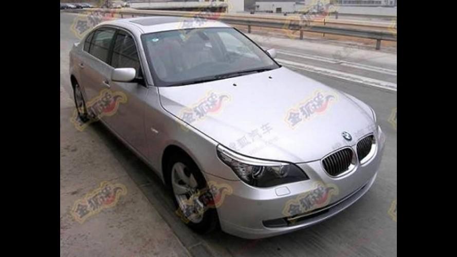 BMW Série 5 antigo receberá facelift na China