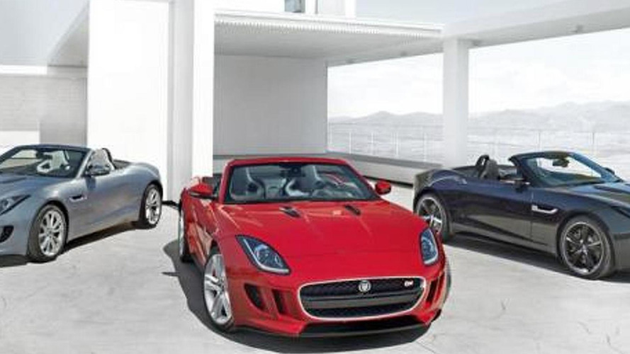 Jaguar F-Type leaked?