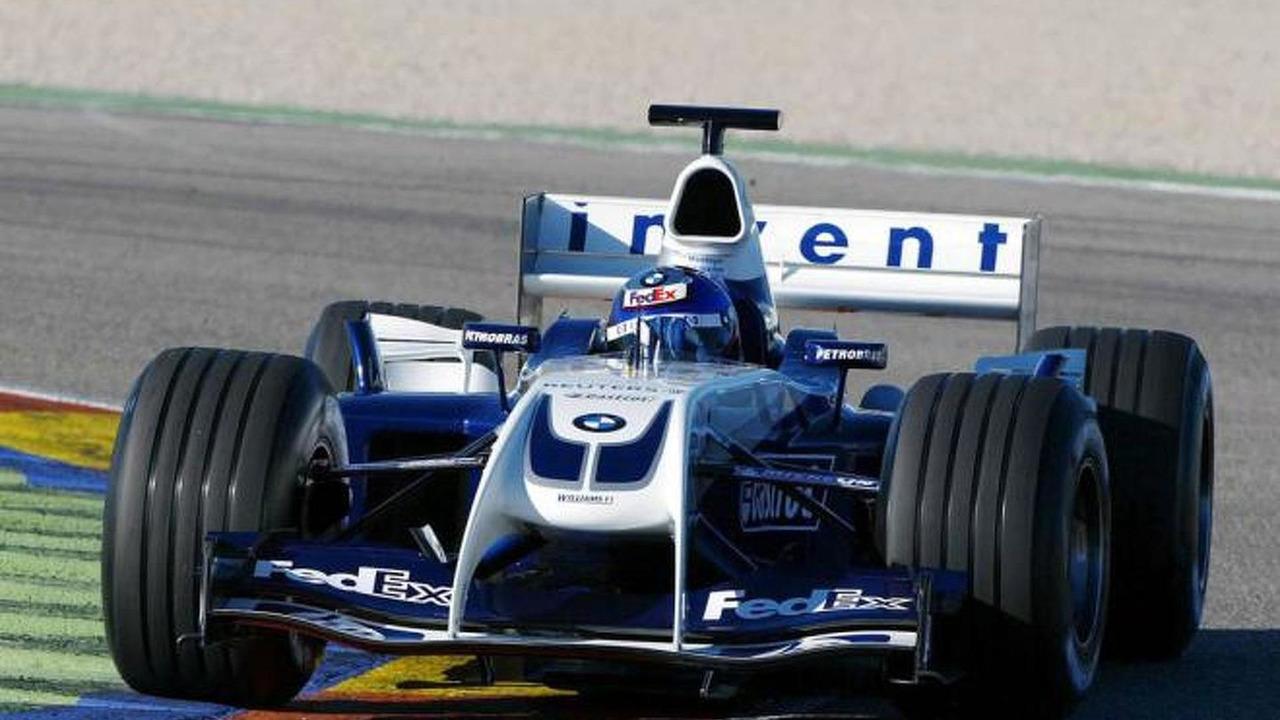 BMW Williams FW26 Formula one car
